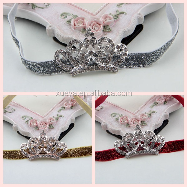 Professional free sample kids crown hands names hair accessories