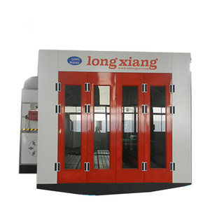 LY-8200 Popular Economic used car paint booth with italian Riello heaters/paint booth china