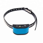 China Top Supplier Outdoor Pet Dog Training Waterproof No Shock Electronic Anti Bark Collar