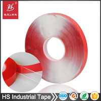 Foam PET Tissue backing double sided coated double-sided adhesive tape