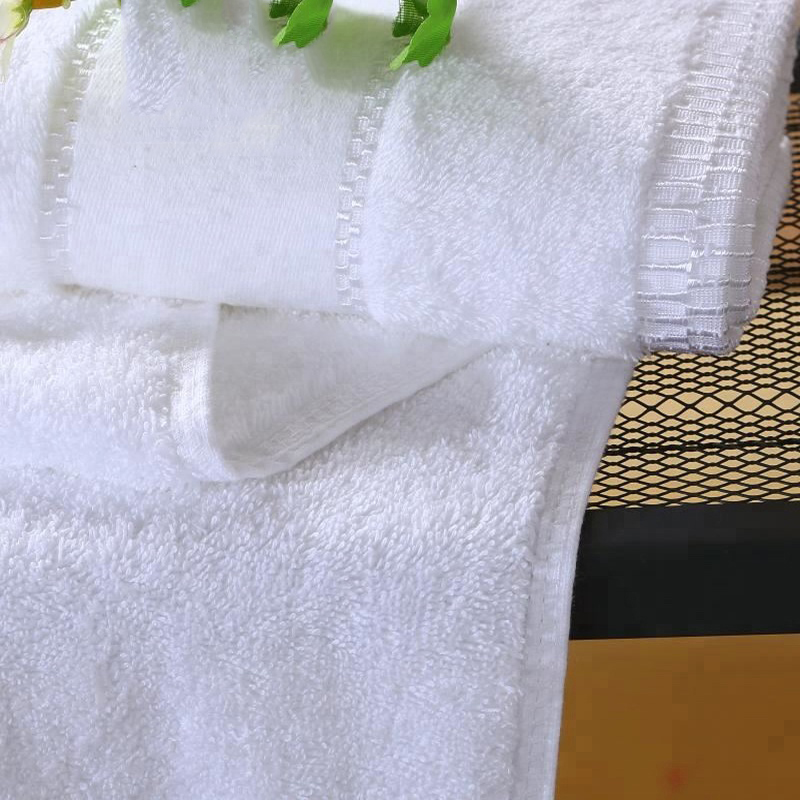 Luxury Plain White Egyptian Cotton 600gsm Bath Towel Set