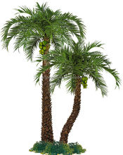artificial outdoor decorative metal palm trees for sale