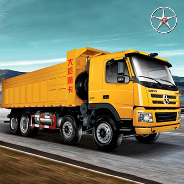 DAYUN 8*4 new dumper truck price tipper truck dump truck long wheel base with left hand for sale