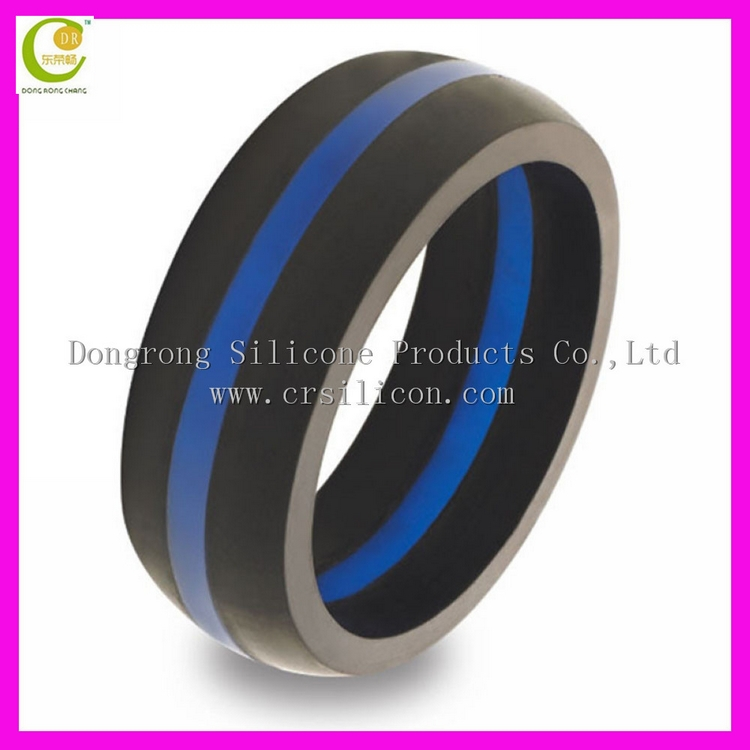 Custom Hot Sale Silicone Wedding Ring Silicone Thumb Ring For