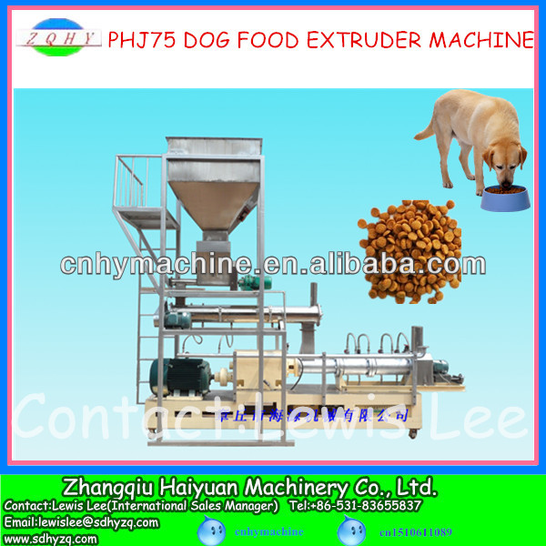 Dog food extrusion line for dog food industry manufacturer in China
