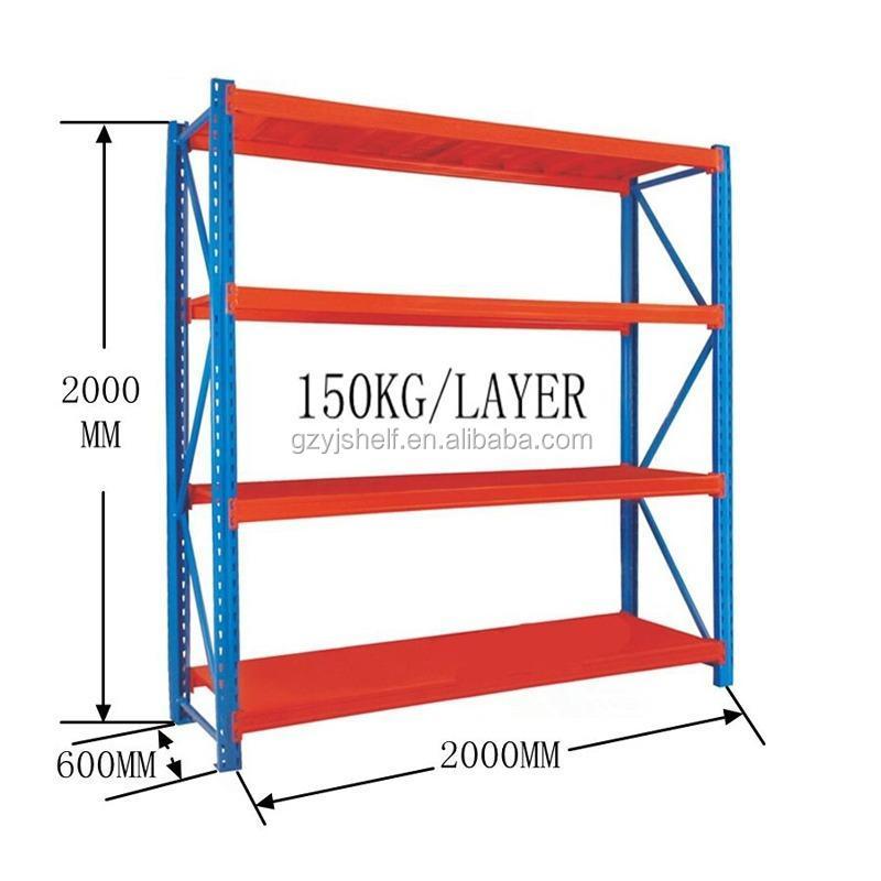 Warehouse Racking System Pallet Racks /light Duty