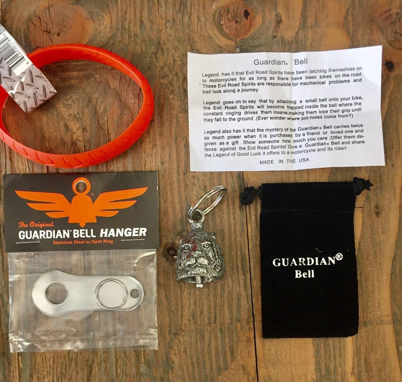 Guardian® Bell TIGER COMPLETE KIT W/HANGER & WRISTBAND
