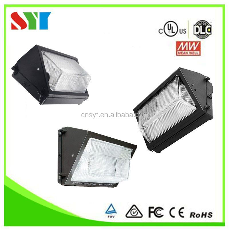 Deco light light emotion design Led wall pack light DLC UL CE RoHS high power 2800-6500K VAC100-277 with 5 years warranty