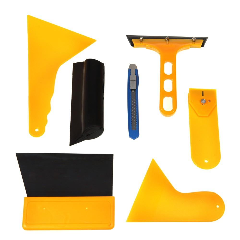 Car Window Tint Tools Kit For Auto Film Tinting Scraper Application Installation