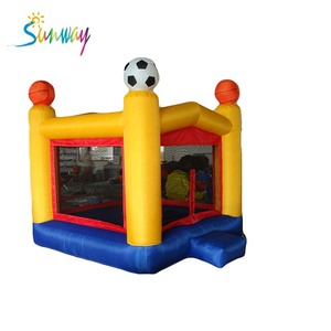 MINI air bouncer inflatable trampoline, inflatable football bouncer
