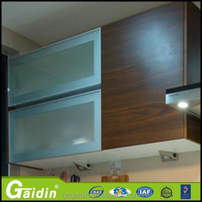 Gaidin Hot Aluminum Frame Kitchen Cabinet Door Wall Cupboards