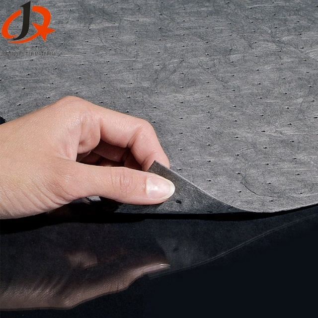 Hot selling universal liquid absorbent roll for spill management industrial field