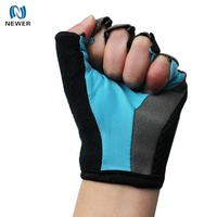 Thermal waterproof short soft half finger breathable custom made hand gym fitness workout gloves