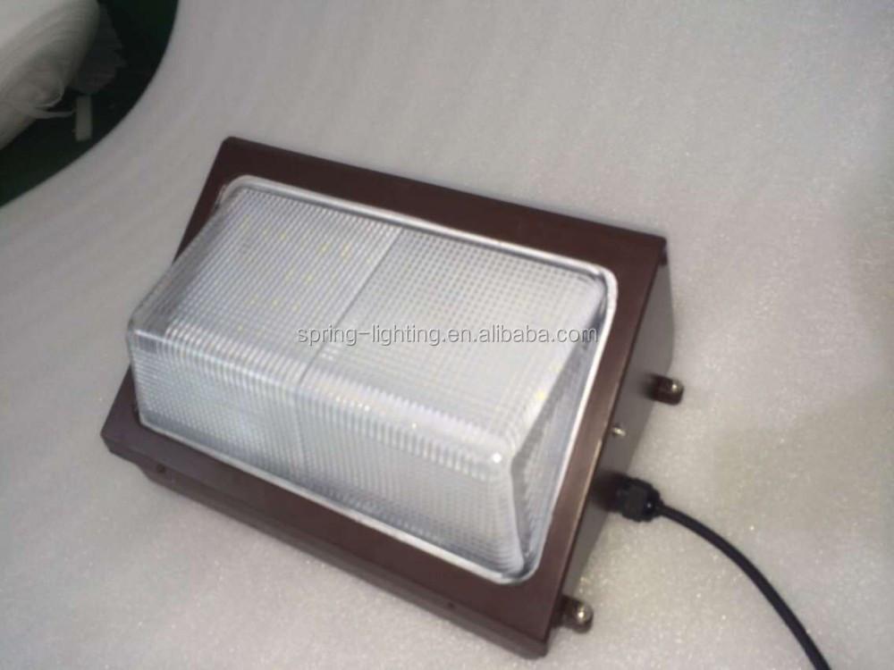 80w Dlc Ul Listed Outdoor Led Corner Light Wall Pack Light