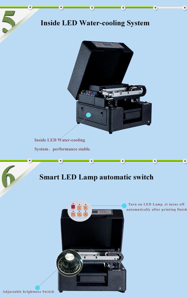อัตโนมัติอลูมิเนียมเครื่อง 3D เครื่องพิมพ์ UV สำหรับโลหะ