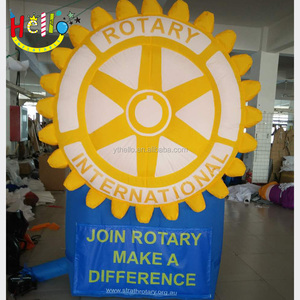 charity advertising inflatable logo mark brands product replicas