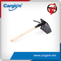 CARGEM india shovel with wooden handle
