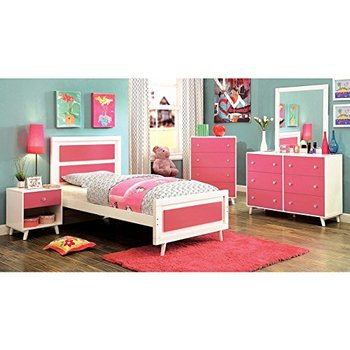 White And Pink Solid Wood Kids Bedroom Furniture Sets Cheap Buy Kids Bedroom Furniture Kids