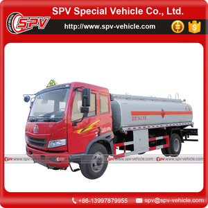 World widely using hot sale two axle 14000 Litres capacity FAW diesel tank