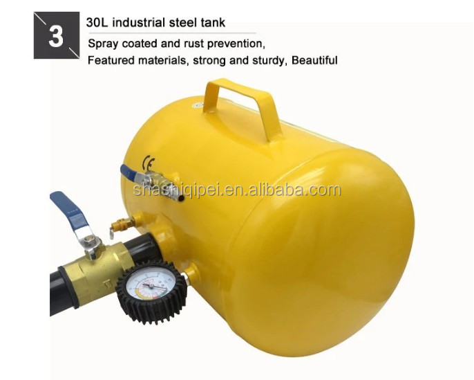 5 Gal Automatic Tire Bead Booster with Aluminium Tank