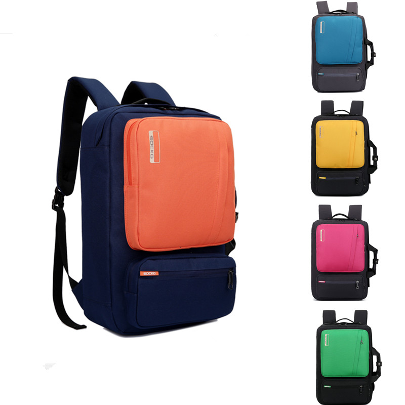 custom student canvas new design hiking travel laptop backpack for high school