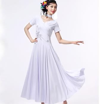 China Export Rosa Tanzkleidung Walzer Tanzen Kleid - Buy Walzer ...