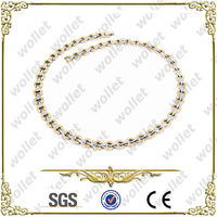 New Model for Gold Plated Steel Necklace Chain