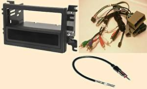 Radio Stereo Install Dash Kit (single and double din) + Steering control wiring + canbus wire harness + antenna adapter for Ford Edge (07-10), Expedition (07-12), Explorer (06-10), Sport Trac (07-10), Fusion (06-2010), Lincoln Mkx (2007-09), Mkz with Navigation (07-2012), Navigator with THX or