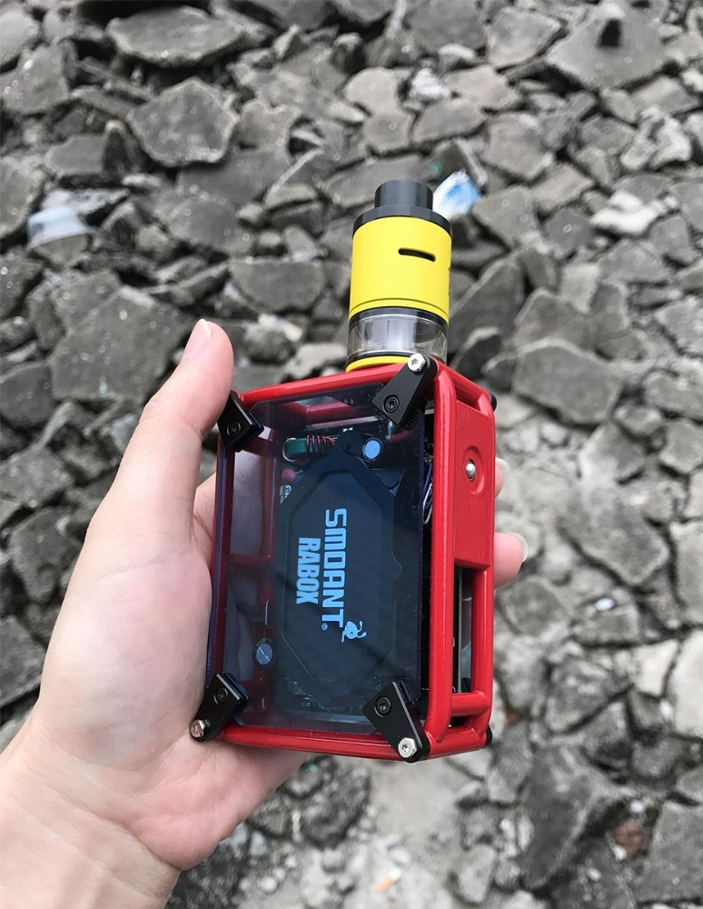 A-Touch Stock Offer! Original Smoant RABOX 3000mAh Powerful TC Mod hexohm v3 box mod