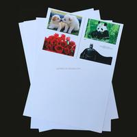 Coated Overlay Film A4 Inkjet Printable Pvc Plastic Sheet