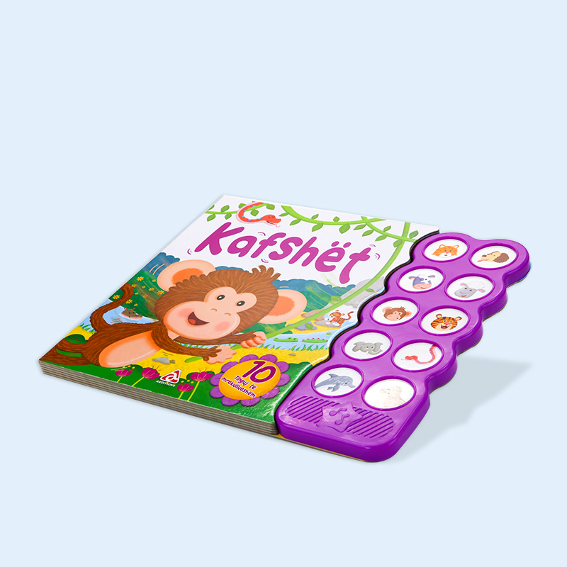 High Quality kids special board book sound book Music book and printing service