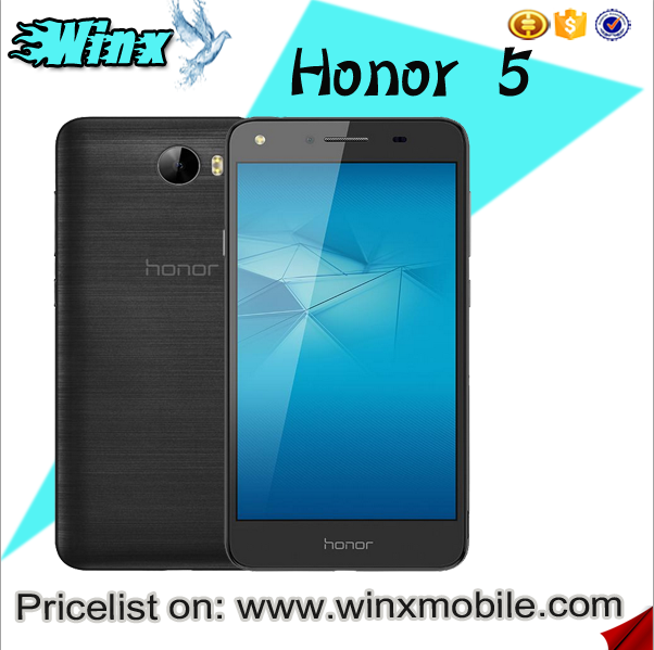 For huawei original honor 5 2GB/16GB RAM/ROM latest 5g mobile phone smartphone android 5.1