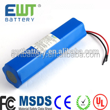 lithium ion 3.7v 2200mah 18650 led diving torch battery with competitive price