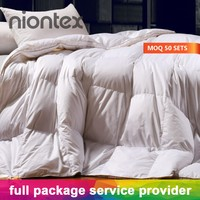 Luxury High End Fluffy Alternative Goose Down Comforter Duvet for Hotel/Home Use
