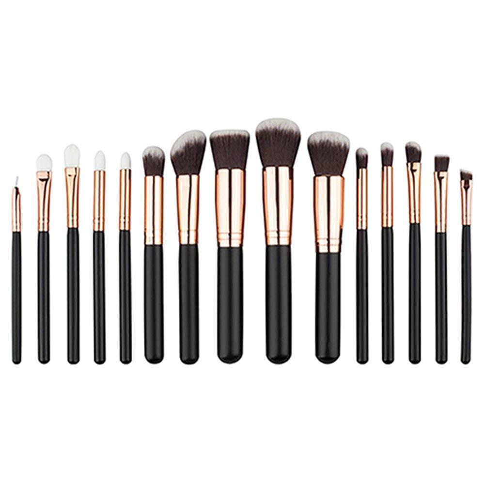 dds5391 22/20/15/12Pcs Pro Foundation Blush Eyeshadow Women Cosmetic Makeup Brushes Set - 15pcs