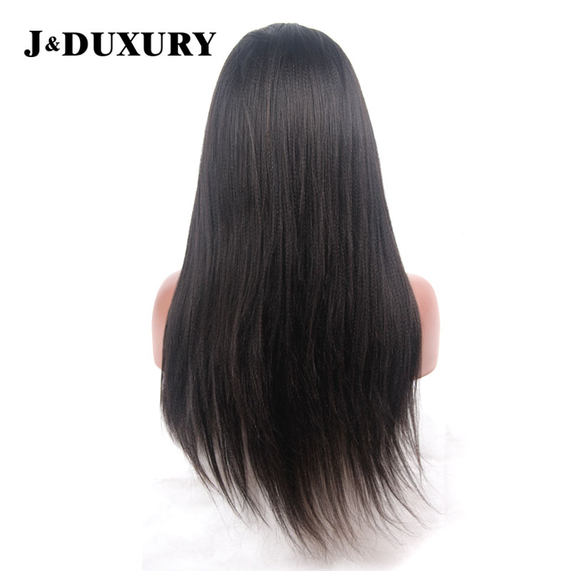 360 Lace Frontal Wig 150% Density Brazilian Remy Straight Human Hair Wigs 360 lace frontal wig