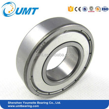Equipment spare parts deep groove ball bearing 6000 ZZ