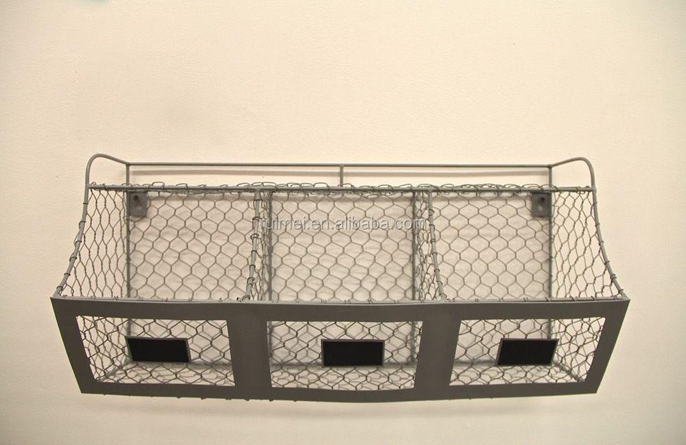 Farmhouse Chicken Wire Storage Bin/basket - Buy Chicken Wire ...