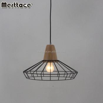 Bedroom Wooden Pendant Lighting Modern