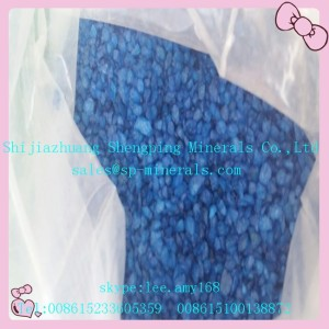 Sea Blue Glass Sand 20-40 mesh