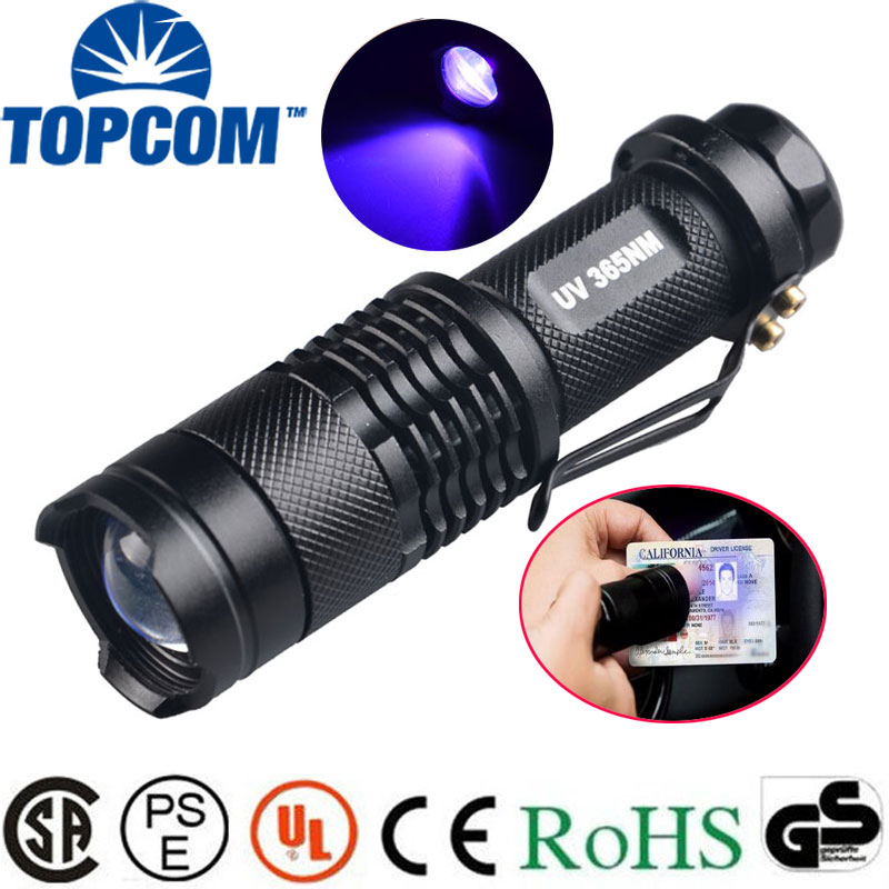 Cooperative Searchlight 9 Led Flashlight Waterproof Uv Light Anti-fake Jewellery Detector Torch Aluminum Alloy Led Torch For Aaa Battery Led Lighting Lights & Lighting