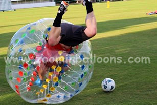 Hi!big discount for inflatable bubble ball suit BB16-P