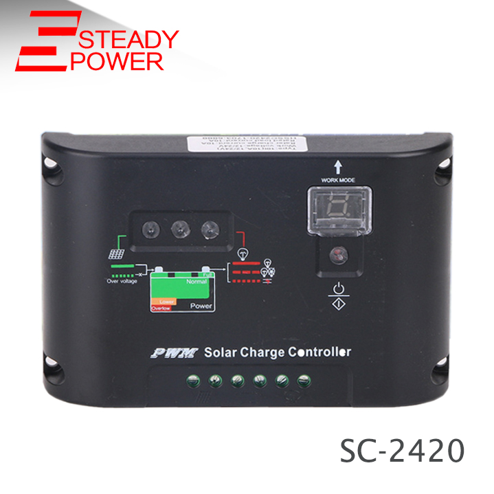 Photovoltaik-zubehör 20a 12v/24v Solar Panel Charge Controller Battery Regulator Safe Protection Yy
