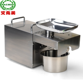 Home olive oil press / mini olive oil machine / cold olive oil press price