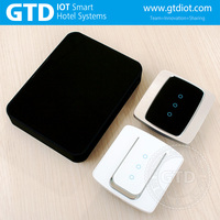 Intelligent ZigBee wireless remote control touch wall dimmer switch