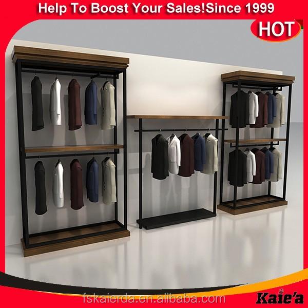 vente chaude en m tal v tement pr sentoir mobilier de magasin de v tement pr sentoir buy. Black Bedroom Furniture Sets. Home Design Ideas