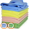16 in. x 16 in. 300gsm Antibacterial microfiber cleaning cloth,Ultra absorbent microfiber towel