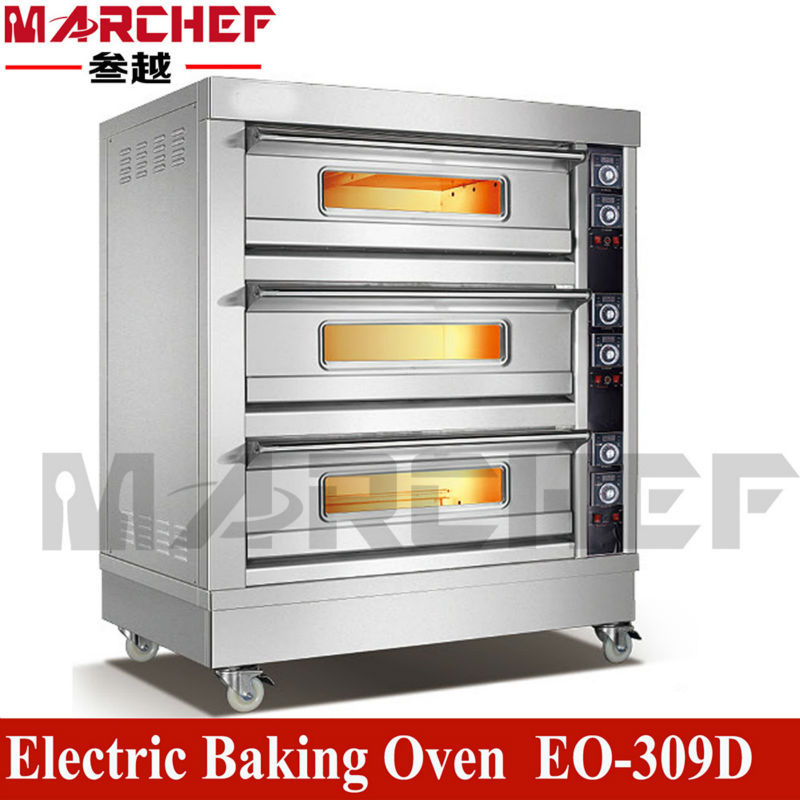 Restaurant Kitchen Oven eo-206d double deck_commercial food kitchen restaurant equipment