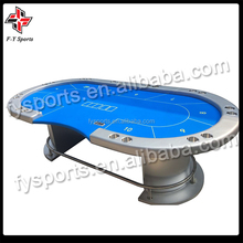luxury Texas poker table tournament poker table with tigher legs/10 person poker table
