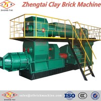 auto brick making machine from clay/Brick plant/clay roof tiles making machine in China